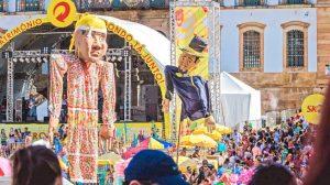 Em Ouro Preto, o retorno financeiro durante a folia em 2018 foi de R$ 8 milhões. Crédito: hojeemdia.com.br